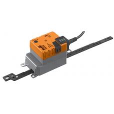 Линейный электропривод заслонки